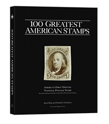 100 Greatest American Stamps book