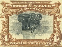 4 cent pan-american stamp