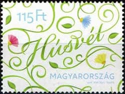 Hungarian Easter Stamp